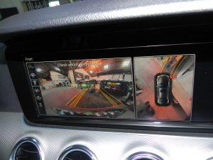 Mercedes camera calibration showing internal camera at STR Service Centre Norwich